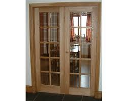 10 pane glazed internal oak door