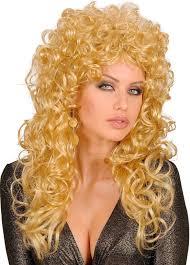 Blonde Beauty Krullen Pruik