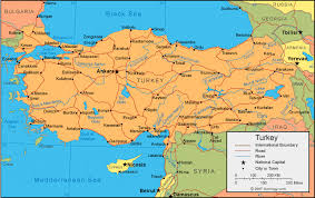 turkey physical features.  Features On Turkey Physical Features K