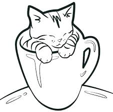 Coloring Cat Cats Coloring Sheets Pages Cat Page Of A Dogs And