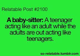 Babysitting Quotes on Pinterest | Babysitting Funny, Disney ... via Relatably.com