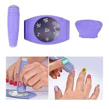 DIY Nail Art Stamping Decals Nail Design Set Nail Tool | BeautyBigBang