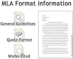 mla format for a essay mla format concept map