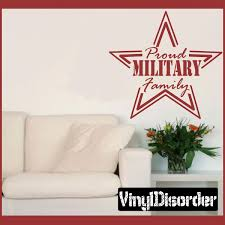 proud military family star patriotic vinyl wall decal sticker mural quotes words hd108 15 starts 10 00 on patriotic vinyl wall art with proud military family star patriotic vinyl wall decal sticker mural