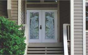 Exterior Glass Panel Door  Appealing Glass Panel Door Style U2013 All Glass Front Doors