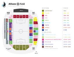 Allianz Field Seating Chart 2019 Season Ticket Pricing Minnesota United Fc