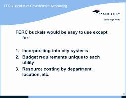 Ferc Chart Of Accounts Basic Concepts In Ferc And Utility Accounting Ppt Video