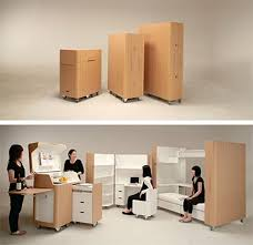 dual use furniture. Kenchikukagu Mobile Furniture Dual Use