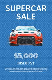 Car For Sale Flyer