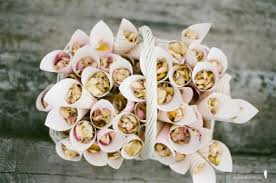 How To Make Paper Cones For Flower Petals Confetti The Wedding Warehouse