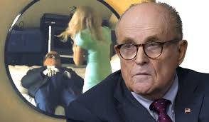 Caroline giuliani, the daughter of vocal donald trump supporter and former new york city mayor rudy giuliani, is voting for hillary clinton. Rudy Giuliani Caught During Hotel Room Interview With Borat S Daughter