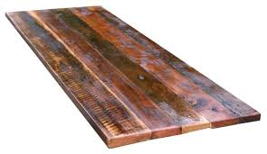 diy reclaimed wood dining table top salvaged recycled restaurant tops how are made rustic kitchen exciting recla