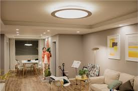 Interior Lighting Design For Living Room Stylish Living Room Lighting Ideas Meethue Philips Hue