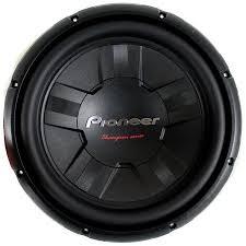 pioneer 15 inch subwoofer. pioneer 12 inch 1400 watt subwoofer car audio power 4-ohm dvc sub | ts 15 m
