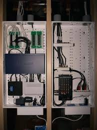leviton structured media panel whole house structured wiring networking set ups cabinets panels picture home structured