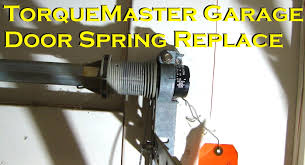 wayne dalton garage doors partsWayne Dalton TorqueMaster Garage Door Spring Replacement  YouTube