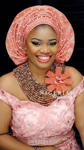 A Corsage For The Necklace Or Gele African Fashion Ankara
