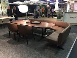 Dining Tables  Curved Upholstered Bench Half Round Bench Curved Curved Bench Dining