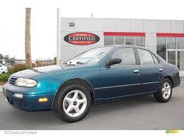 1996 Starfire Blue Pearl Nissan Altima Gxe 9514306