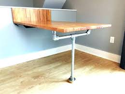 table attached to wall folding dining