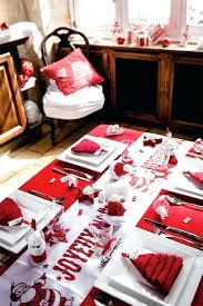 Deco Table Noel Rouge Et Blanc Deco De Table De Noel Rouge Blanc Et ...
