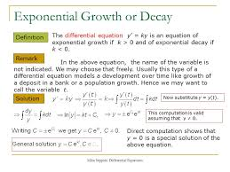 3 exponential growth or decay
