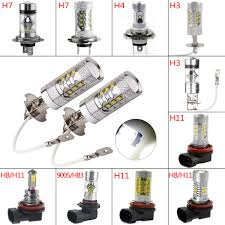 Us 1524 45 Offtsleen 4pcs H3 H4 H7 H11 Hb3 Car Led Headlight 6000k Replace Xenon Lamp Cree Bright White Shockproof Bulb Lamp 12v Drl Fog Light In