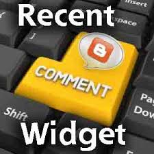 Recent Comments Widget For Blogger / Blogspot