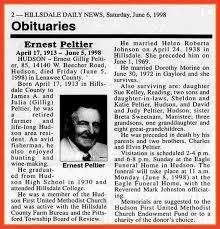 Sample Obituary Memo Example