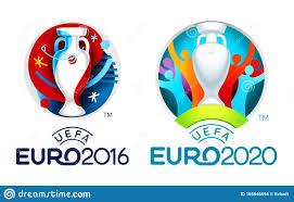 Loghi Ufficiali Dei Campionati Europei Di Calcio 2016 E 2020 Immagine Stock  Editoriale - Immagine di calcio, finale: 165846694