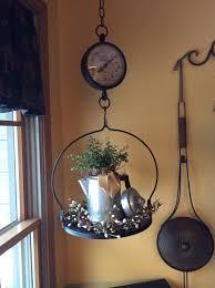 primitive hanging scale primitive decor