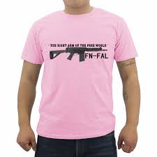 Free World Jeans Size Chart Summer Hot Sale Men T Shirt Funny The Right Arm Of The Free World Fn Fal Rifle Print T Shirt Male Cotton Short Sleeve Tees Tops
