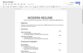 How To Make A Resume Without