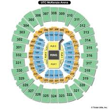 Utc Seating Chart Mckenzie Arena Seating Chart Mckenzie Arena Seating Maps