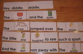 Nursery Rhymes Pocket Chart Activities Awesome Offered