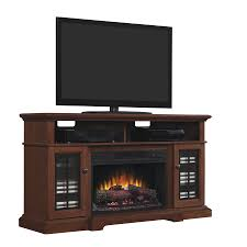 style selections 56 in w cherry fan forced electric fireplace