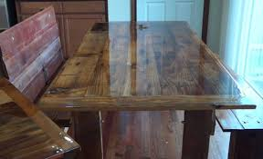 resin table top diy inspirational how to build a barn wood dining table and bench