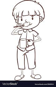 brushing teeth drawing. Exellent Brushing For Brushing Teeth Drawing R