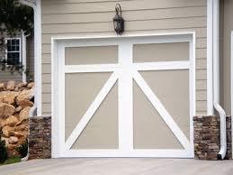 carriage doors no windows could fake this with trim garage door colors garage door