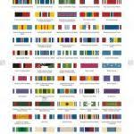 Us Army Ribbon Chart Us Army Ribbon Chart Best Of 14 Best Army Ribbons Images In