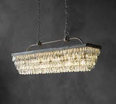 black chandelier pottery barn best rectangular chandelier ideas on dining room model 55