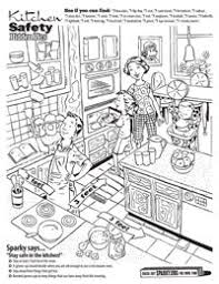 Small Picture Kitchen Safety Worksheets Kitchen Safety Poster Set Posters
