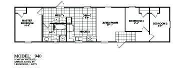model 940 14x60 3bedroom 1bath oak creek mobile