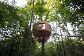 The ORIGIN Tree House Sits Within A Forest In France CONTEMPORIST