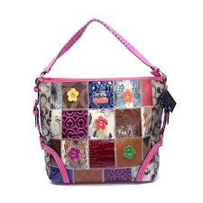 Coach Holiday Fashion Medium Pink Shoulder Bags DMF