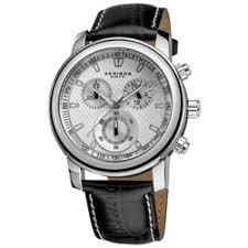akribos xxiv men s black leather strap swiss collection akribos xxiv coronis men s chronograph quartz leather silver tone strap watch