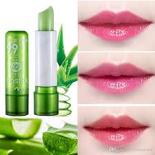 aloe vera discolored lip balm color mood changing lipstick long lasting moisturizing hydrate lipstick lip care lipgloss color change lipstick lipstick balm