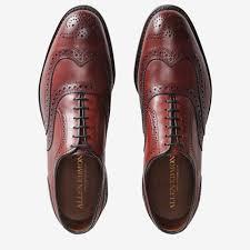 Allen Edmonds Width Size Chart Mcallister Wingtip Oxford Mens Dress Shoes By Allen Edmonds