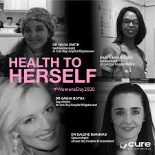 Cure Day Hospitals - Meet our inspirational female doctors: Dr Hilda Smith  Gastroenterologist at Cure Day Hospital Wilgeheuwel Dr R A Mogotlane  Gynaecologist at Cure Day Hospital Medkin Dr Sasha Botha Anaesthetist