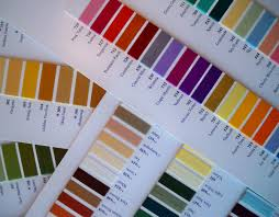 11 Detailed Gutermann Dekor Thread Color Chart
